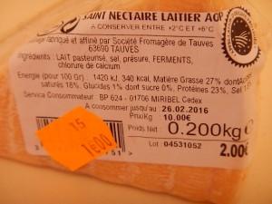 フランスの激安チーズ