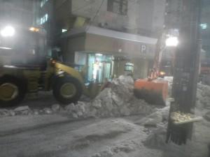 排雪 - オヨヨ通り