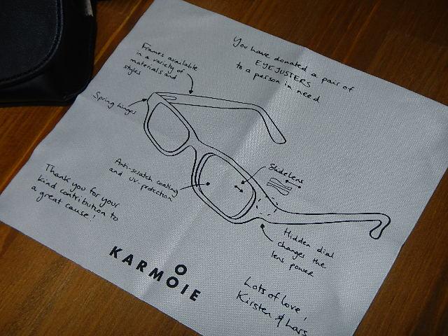 KARMOIE - 眼鏡拭き