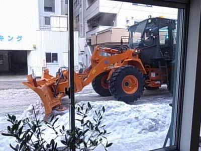 オヨヨ通り - 排雪