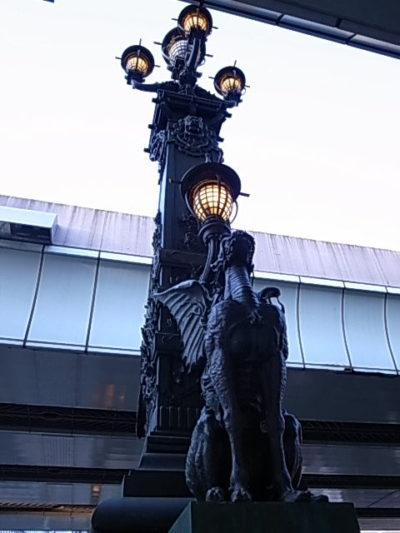 日本橋 - 欄干の飾り