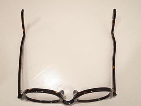 眼鏡フレーム - フィッティング後